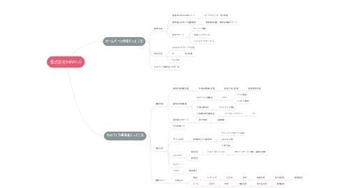 Mind Map: 株式会社MIRAIUS
