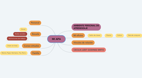 Mind Map: MI APA