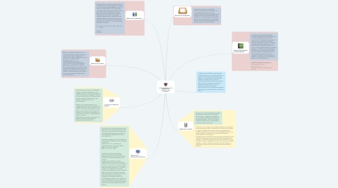Mind Map: Características de Abstracción, herencia, polimorfismo y encapsulamiento de objetos