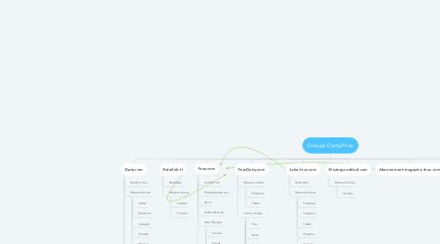 Mind Map: Groupe Darty/Fnac