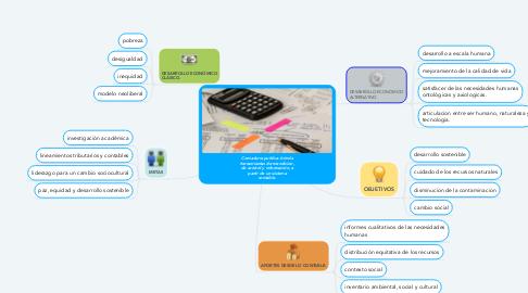 Mind Map: Contaduría publica: brinda herramientas de mendicion, de control y información, a partir de un sistema contable.