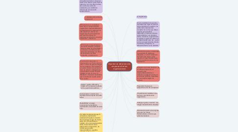 Mind Map: importancia del protocolo  empresarial en las organizaciones
