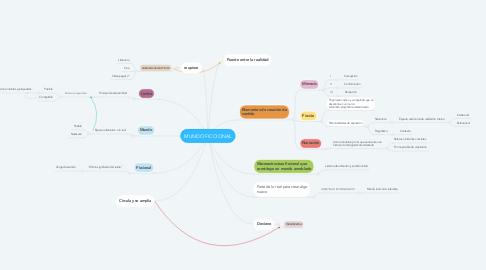 Mind Map: MUNDO FICCIONAL