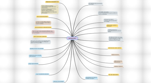 Mind Map: MANAGENET