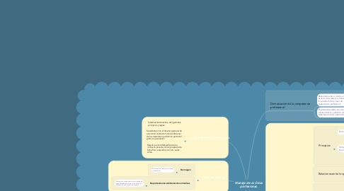 Mind Map: Manejo de la ética profesional.