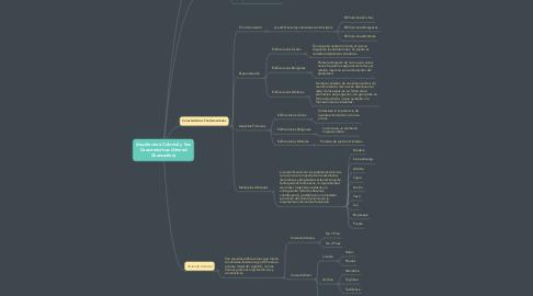 Mind Map: Arquitectura Colonial y Sus Características (Ahmed Chansedine)