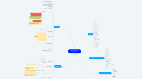 Mind Map: ACTIVITES AGENCE EXPERTISE