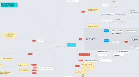 Mind Map: Hacia un modelo de evaluación de entornos  virtuales de enseñanza y aprendizaje. La  importancia de la usabilidad