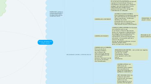 Mind Map: NETEJA, DESINFECCIÓ I ESTERILITZACIÓ