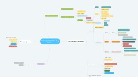 Mind Map: Gerência de Processos de Negócios
