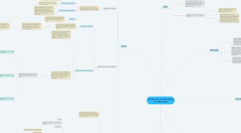 Mind Map: ETAPAS DE LA REVISIÓN DE LA LITERATURA