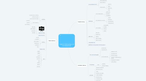 Mind Map: CAMPO PROFESIONAL DE LOS NEGOCIOS