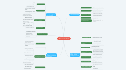 Mind Map: PIA 3/ Campus d'Excellence