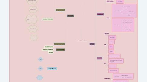 Mind Map: RELACIONS LABORALS