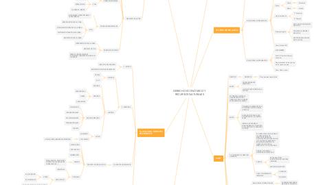 Mind Map: DERECHO ECONÓMICO Y RECURSOS NATURALES