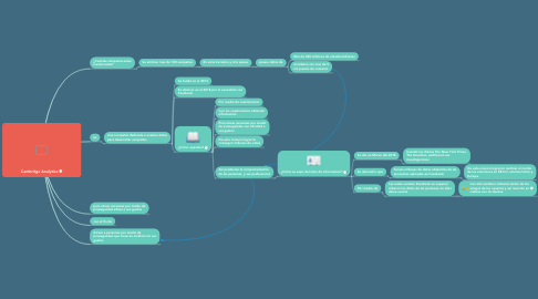 Mind Map: Cambritge Analytica