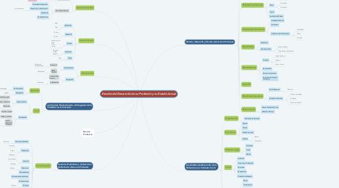 Mind Map: Estudio del Desarrollo de su Profesión y su Estado Actual