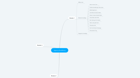 Mind Map: Agency Excellency