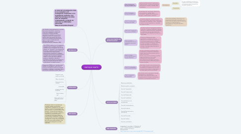 Mind Map: ENFOQUE MIXTO