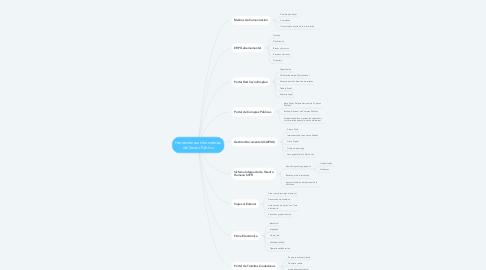 Mind Map: Herramientas Informáticas del Sector Público