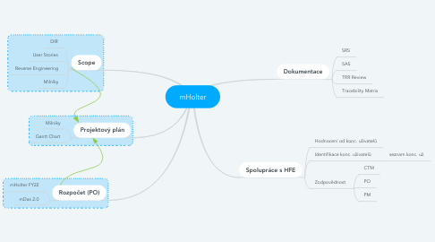 Mind Map: mHolter