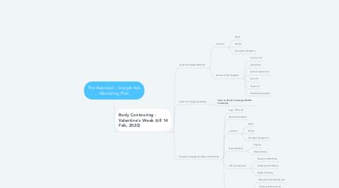 Mind Map: The Aesculpir - Google Ads Marketing Plan