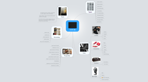Mind Map: Leather