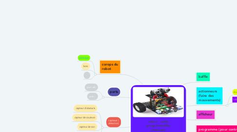 Mind Map: robot   carte programmable (exemple :micro:bit)