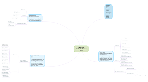Mind Map: ORG Chart Martin Markiewicz CEO