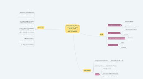 Mind Map: Психокоррекционные программы: виды, принципы и технологии их проектирования