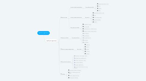 Mind Map: Cykle organizacji