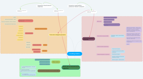 Mind Map: Coaching sistèmic