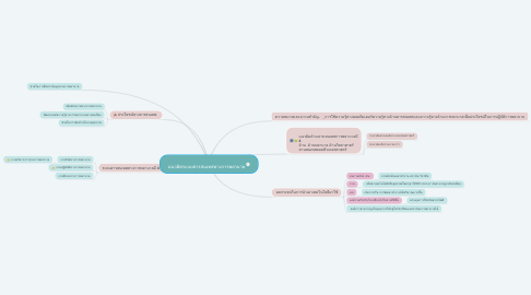 Mind Map: แนวคิดระบบสารสนเทสทางการพยาบาล
