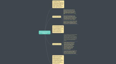 Mind Map: Formación de Zonas de Influencia