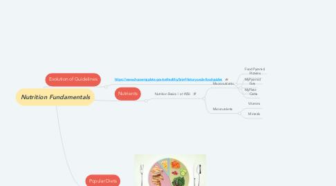 Mind Map: Nutrition Fundamentals