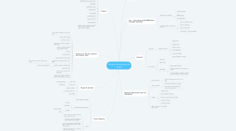 Mind Map: Técnicas de dinâmicas de grupo