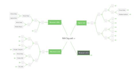 Mind Map: MA Squash