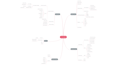 Mind Map: Strategy