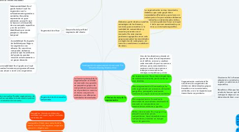 Mind Map: Investigación de segmentación de mercado. Por: Eduardo Shadday Martínez Díaz