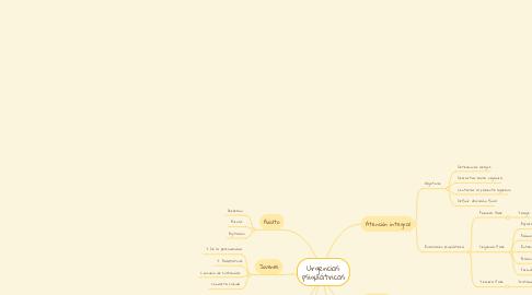 Mind Map: Urgencias psiquiátricas