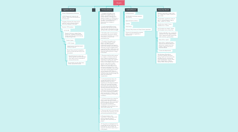 Mind Map: Us gov