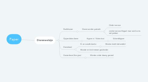 Mind Map: Paper