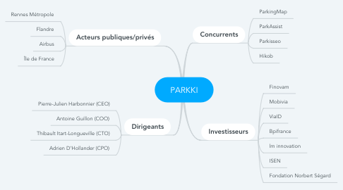 Mind Map: PARKKI