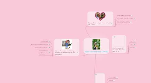 Mind Map: Joyce van der Borst, OAO3C