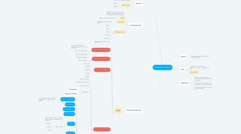 Mind Map: Conceptos de POO
