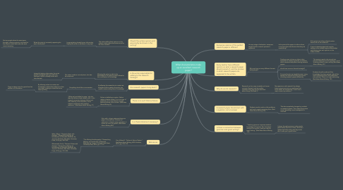 Mind Map: What characteristics make up an excellent research paper?