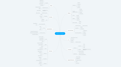 Mind Map: Solutions Infinigate