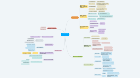 Mind Map: DESARROLLO INTELECTUAL