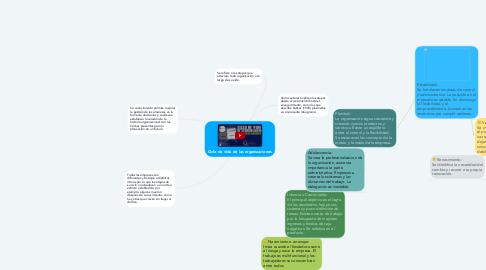 Mind Map: Ciclo de vida de las organizaciones