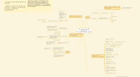 """Mind Map: Mini-réseau DOC/CPE Bassin Sud  """"Le temps libre de l'élève"""""""